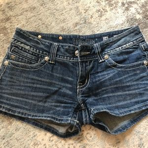 Miss Me Denim shorts, size 28